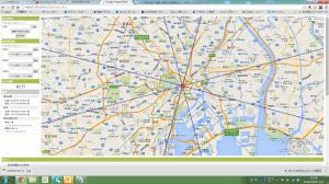 GoogleMaps方位図