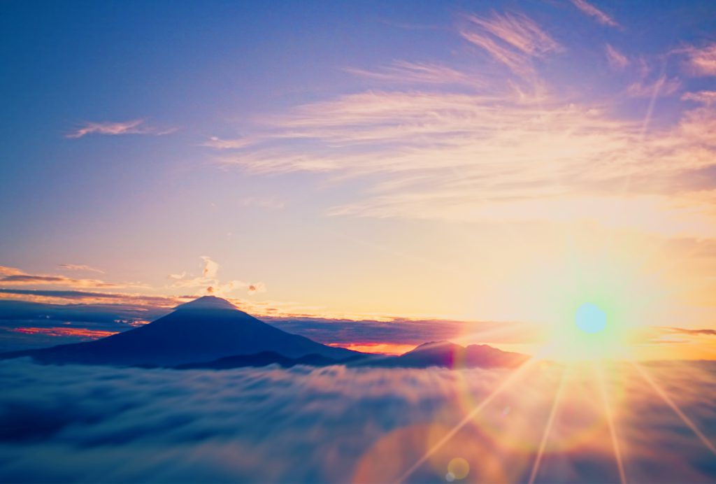 富士山幸運イメージ
